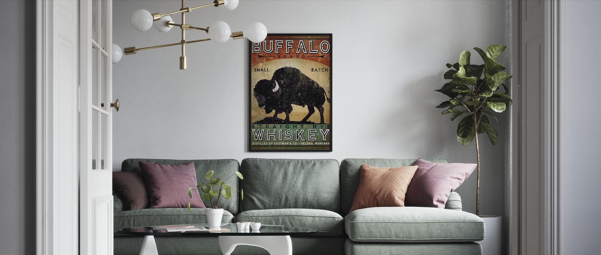 Buffalo Whiskey - Poster - Living Room