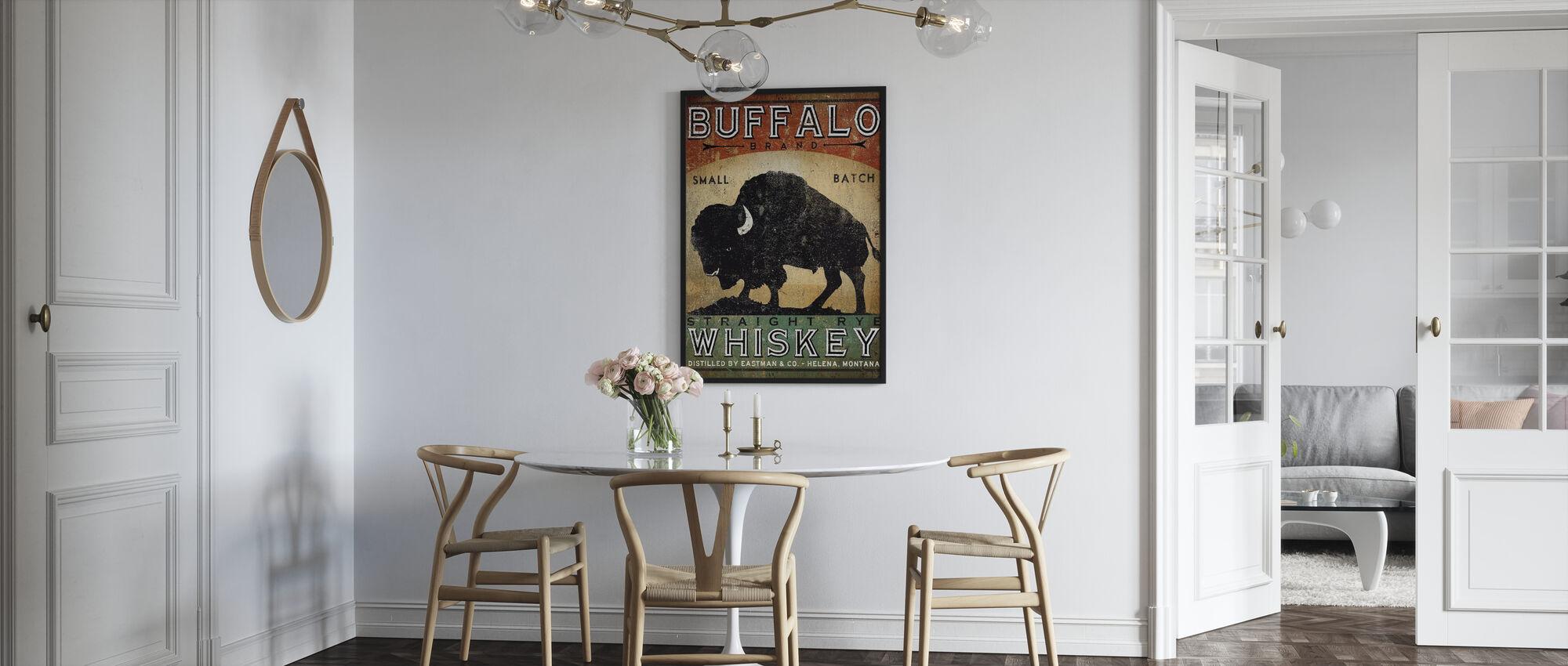 Buffalo Whiskey - Ingelijste print - Keuken