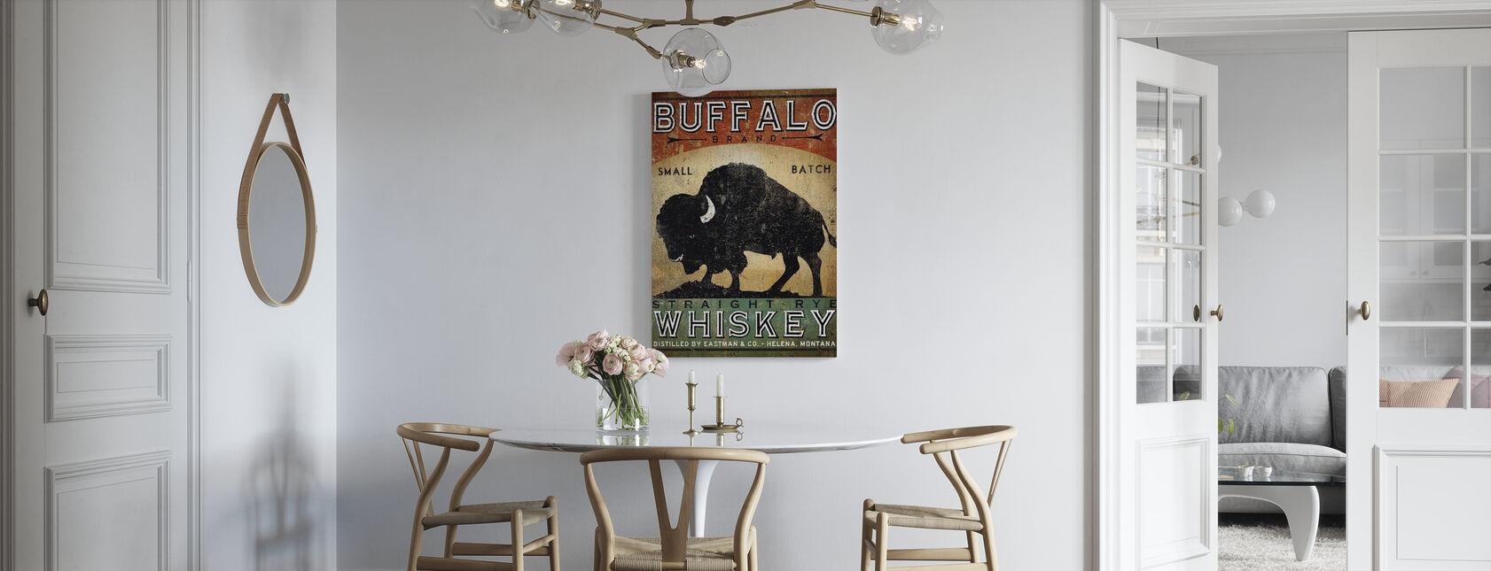 Buffalo viski - Canvastaulu - Keittiö