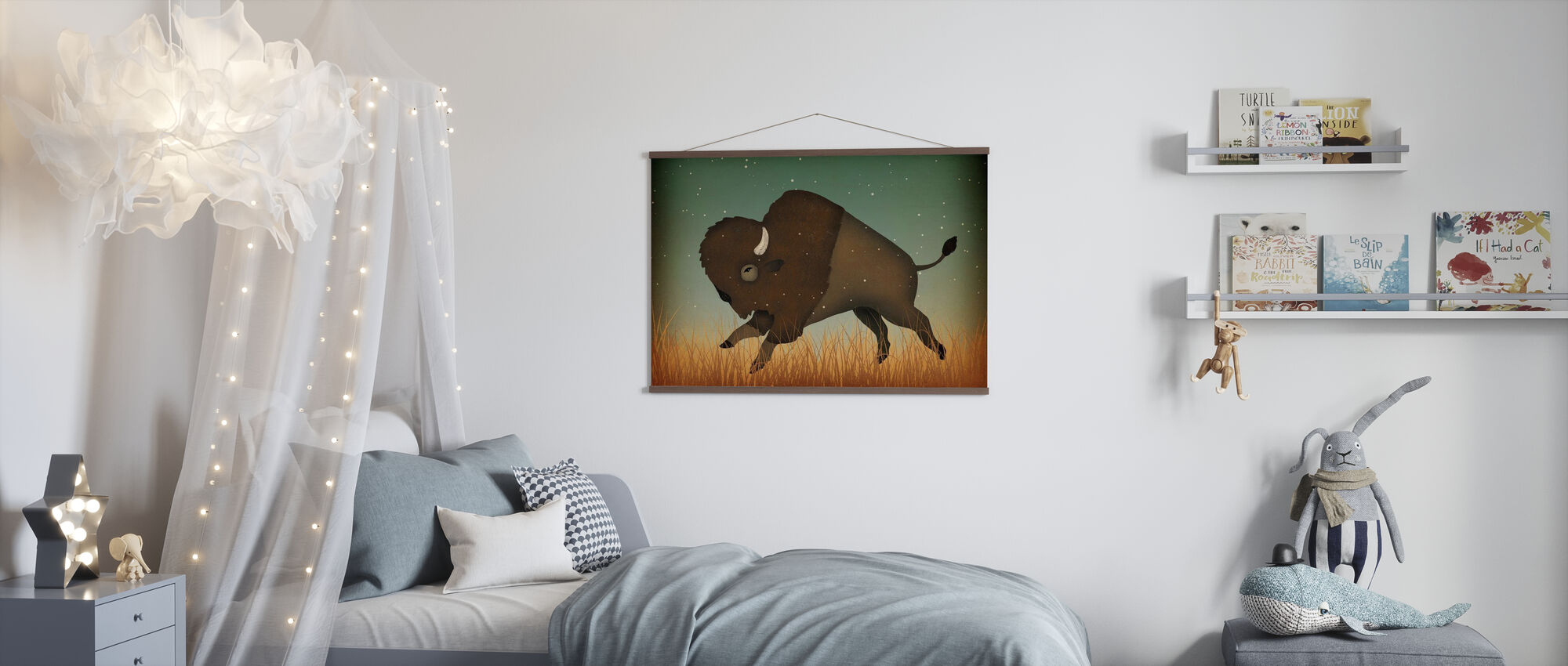 Buffalo Bison - Poster - Kids Room
