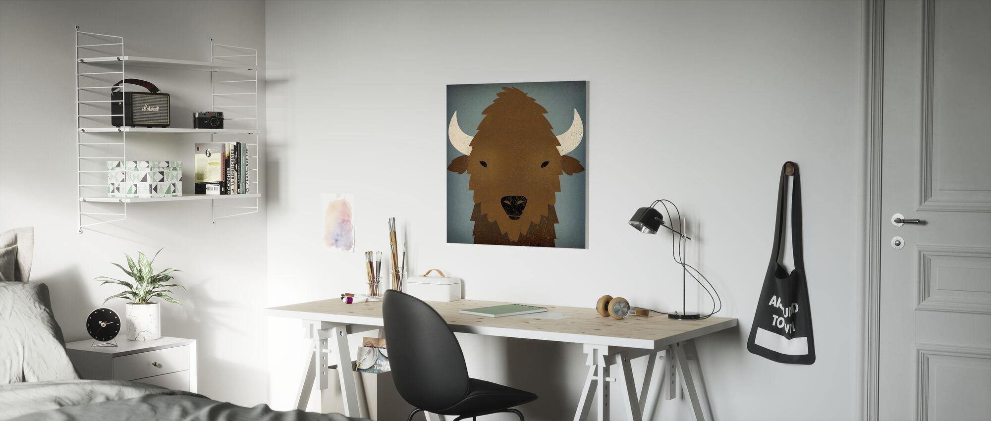 Buffalo Blues - Canvas print - Kinderkamer