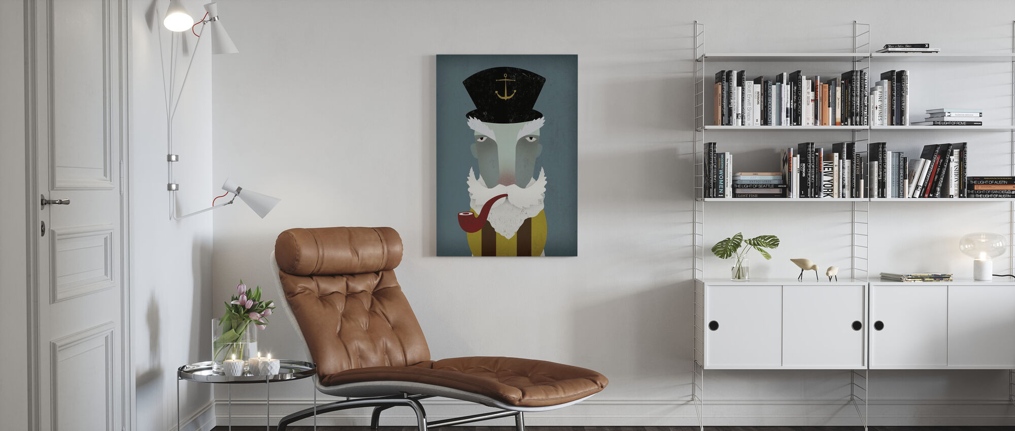 Fisherman - Canvas print - Living Room