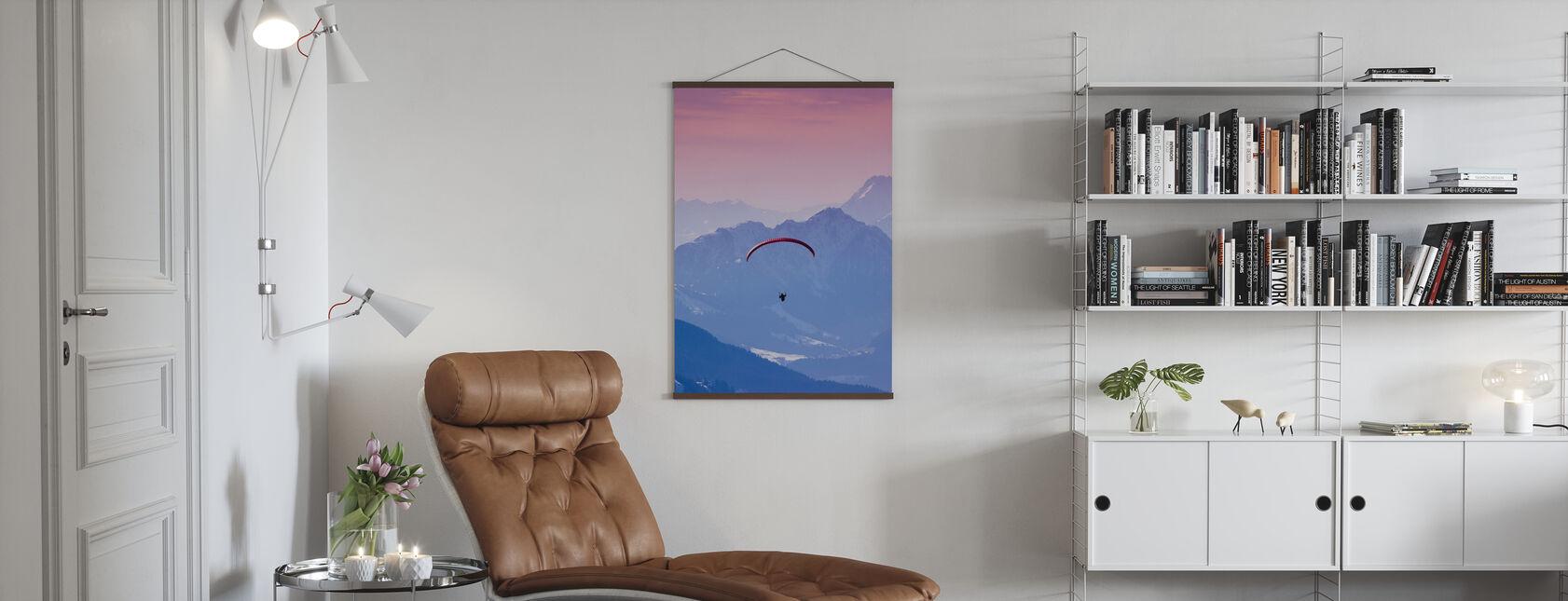 Kite i Hopfgarten, Österrike - Poster - Vardagsrum