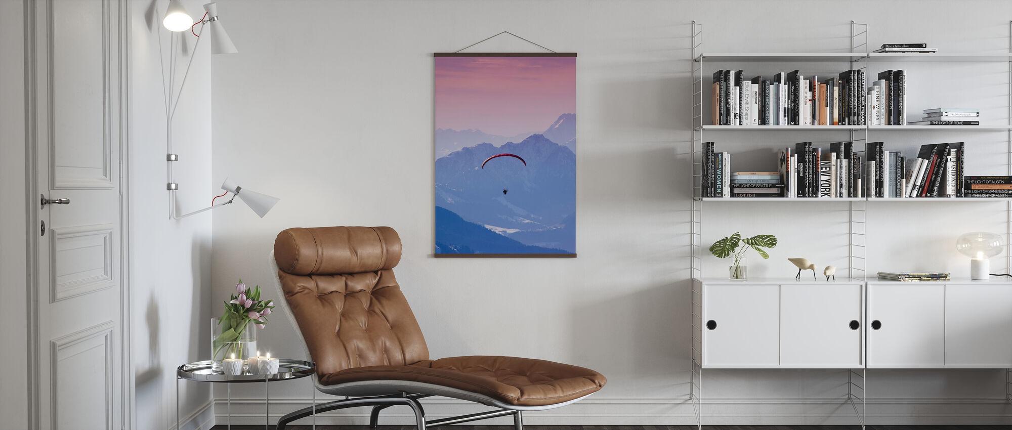 Kite i Hopfgarten, Østerrike - Plakat - Stue