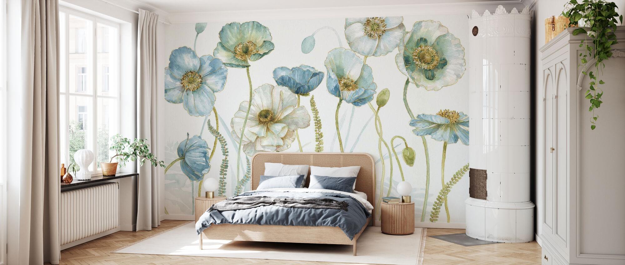 Min Växthus Blommor 2 - Tapet - Sovrum