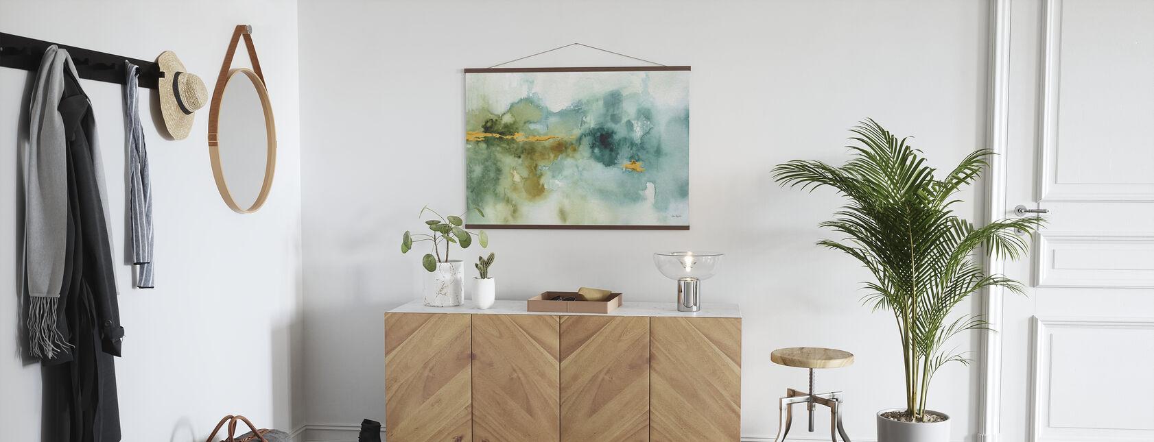 Min drivhus akvarel 4 - Plakat - Entré