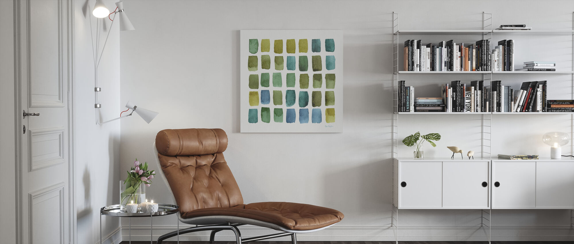 Mijn broeikas Geo 3 - Canvas print - Woonkamer