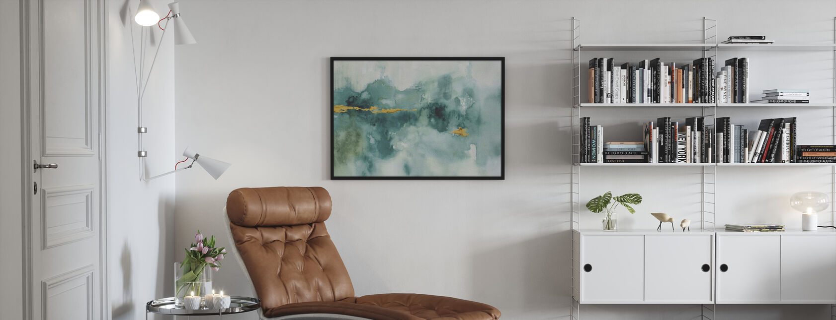 Mein Gewächshaus Aquarell 3 - Poster - Wohnzimmer