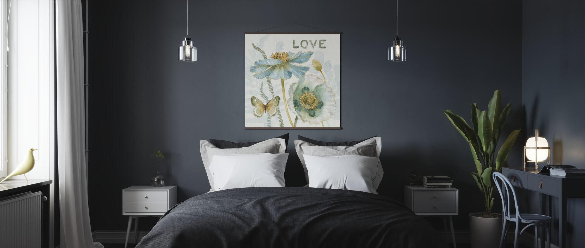 My Greenhouse Flowers - Love - Poster - Bedroom