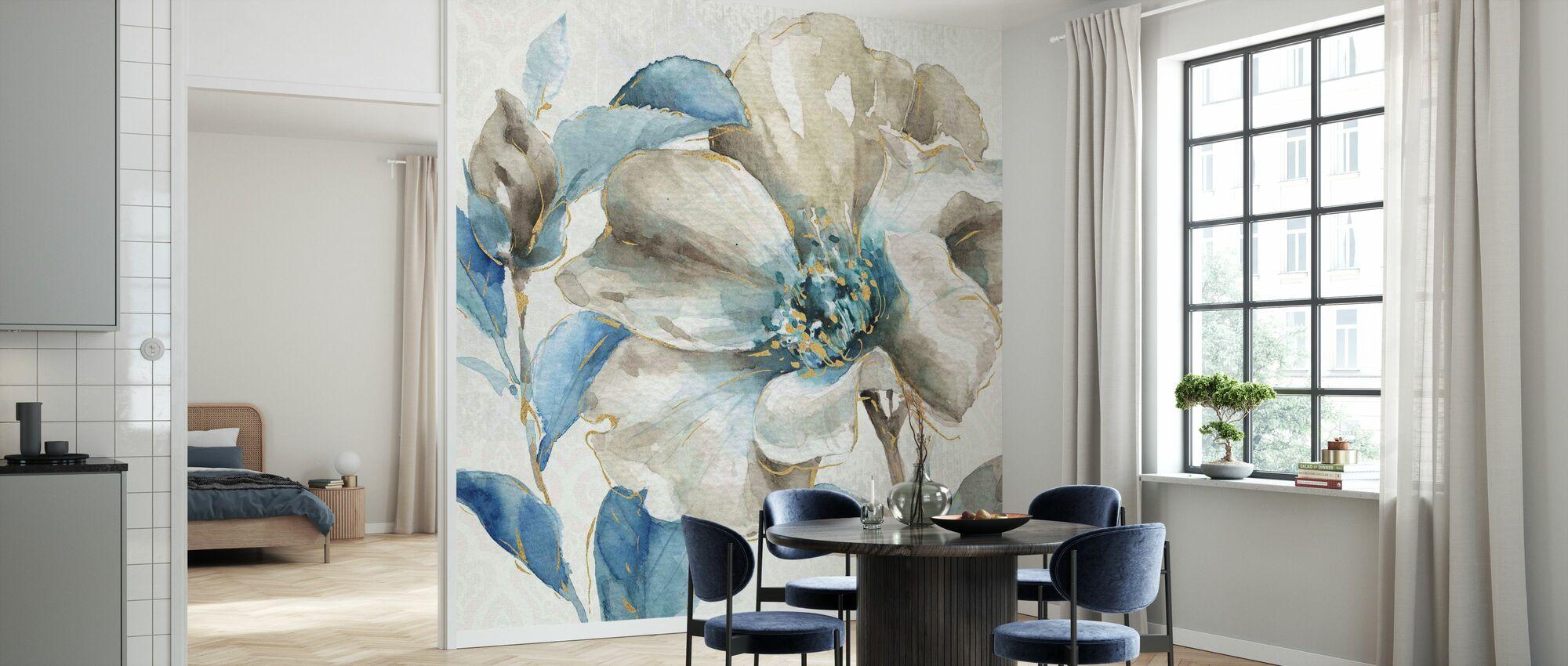 Indigold Floral 1 - Wallpaper - Kitchen