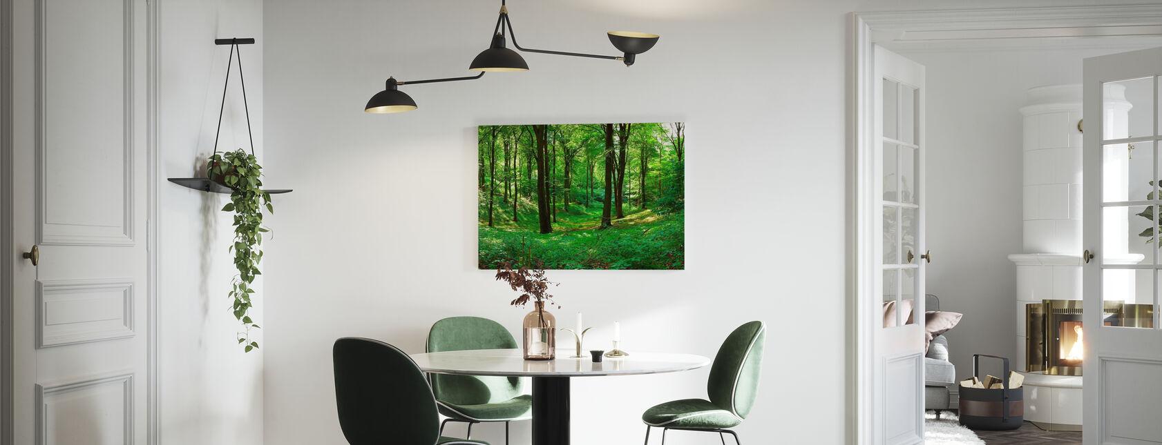 Panorama forest - Billede på lærred - Køkken