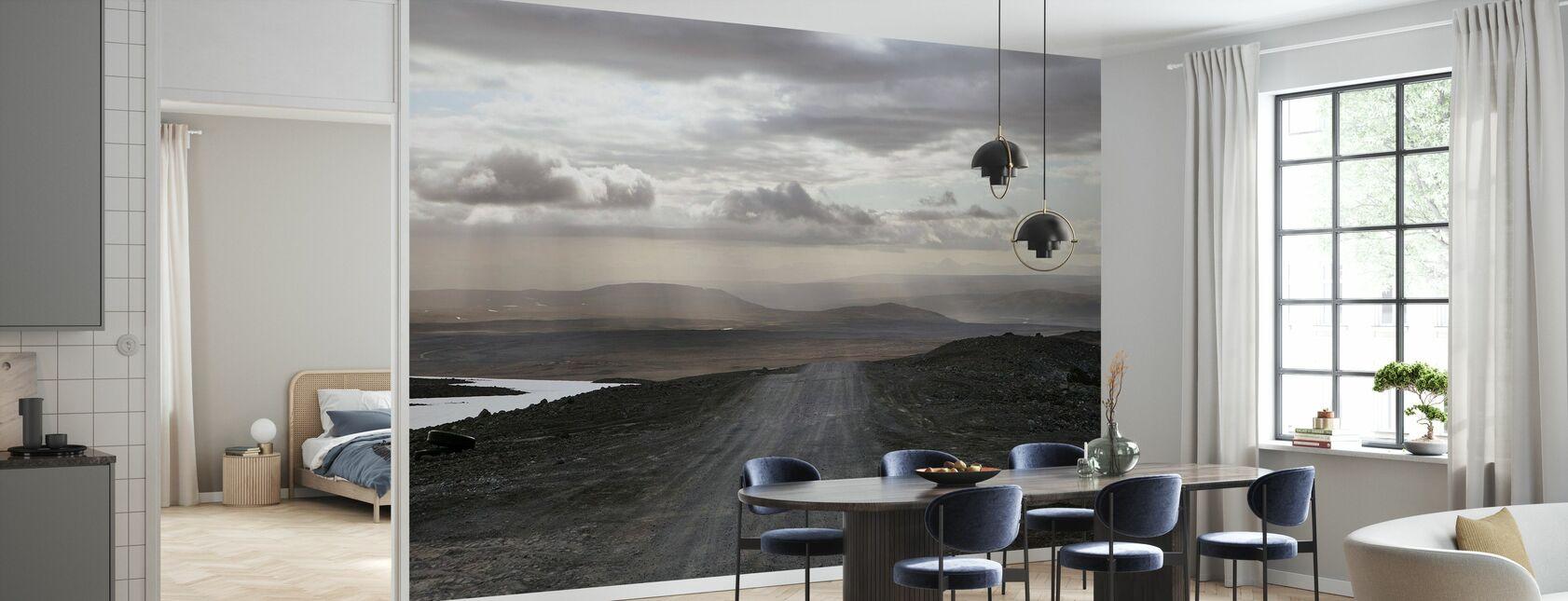 IJslands landschap - Behang - Keuken