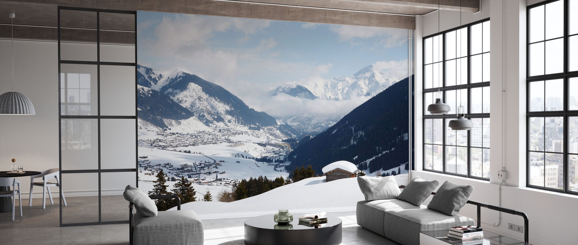 Andermatt, Switzerland - Wallpaper - Office