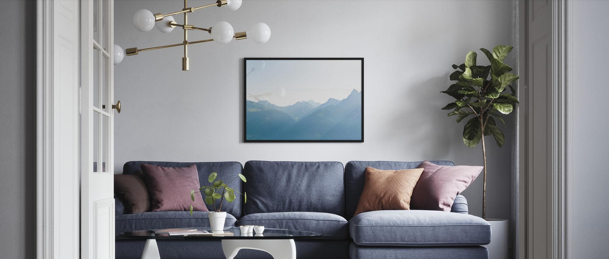 Vorarlberg, Austria - Poster - Wohnzimmer