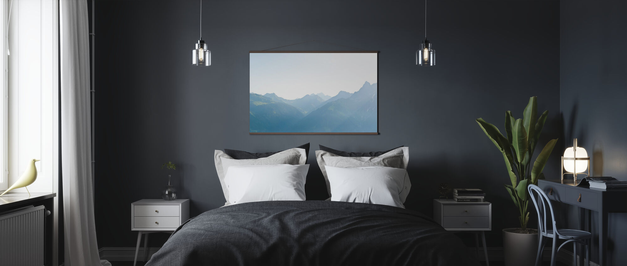 Vorarlberg, Austria - Poster - Schlafzimmer