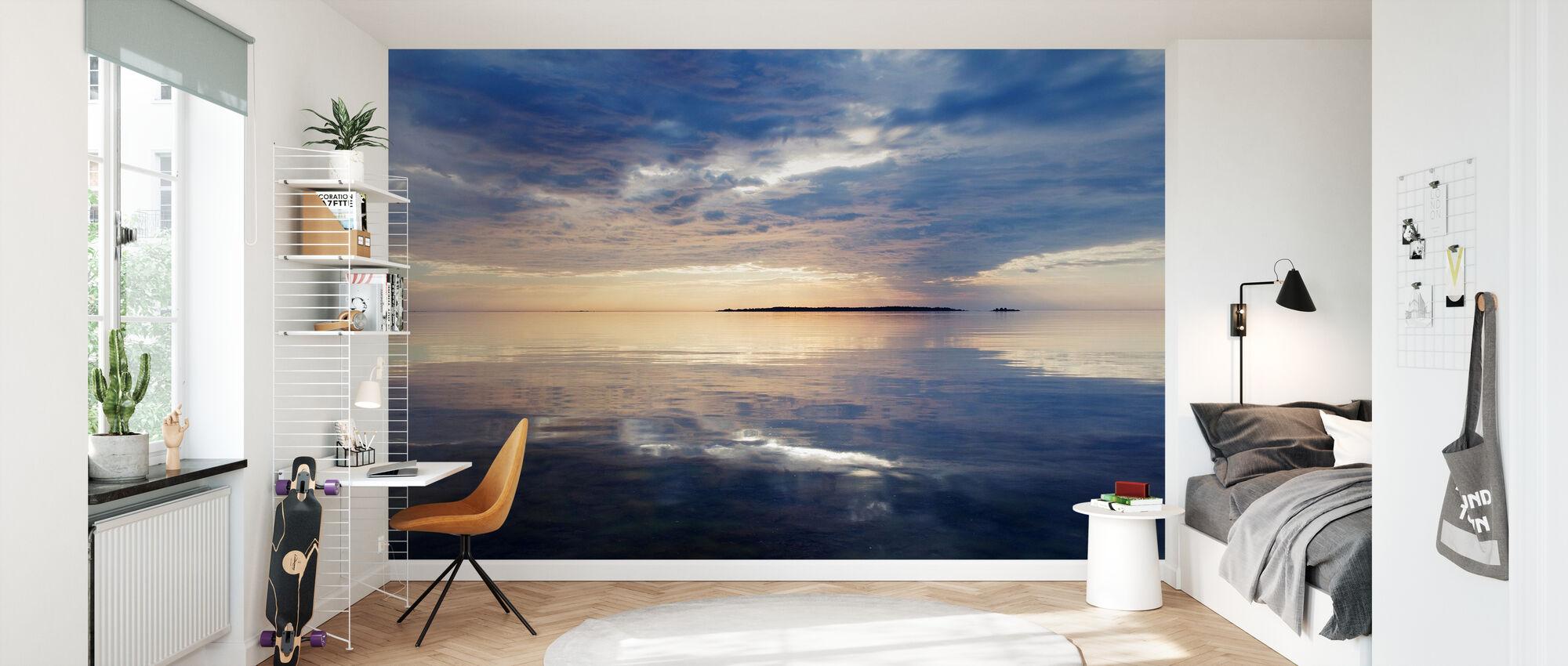 Sky Mirrored in Baltic Sea - Wallpaper - Kids Room