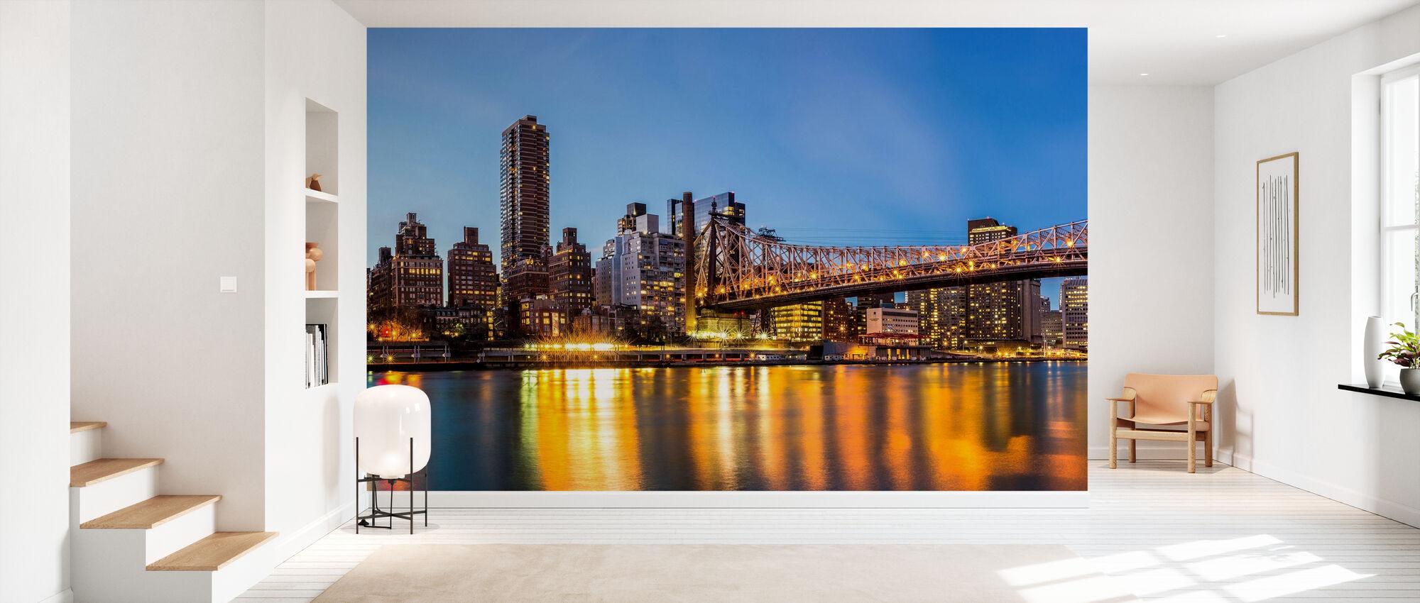 Queensboro Bridge, New York - Wallpaper - Hallway