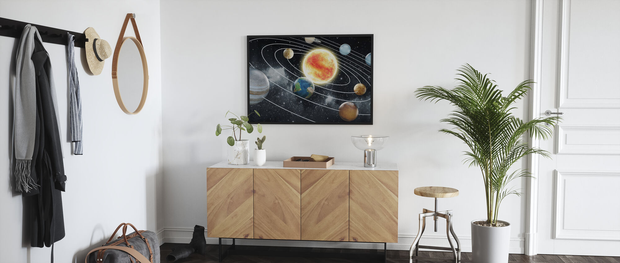 Eight Planets - Poster - Hallway