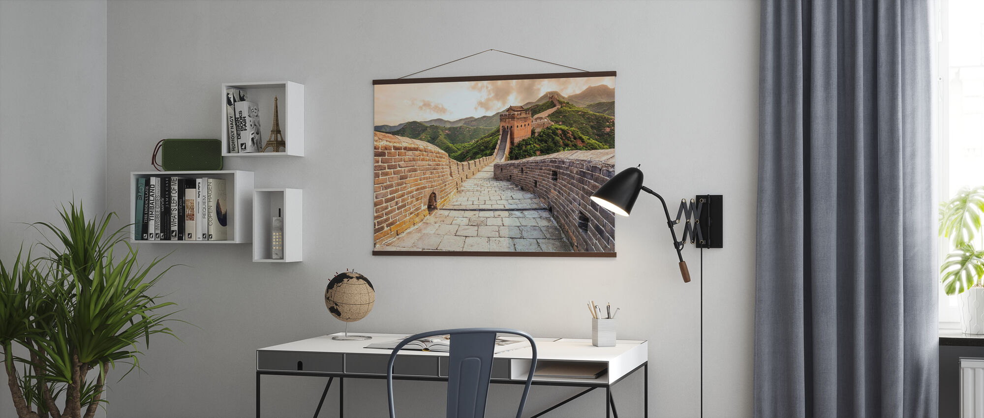 Kinesiske mur - Plakat - Kontor