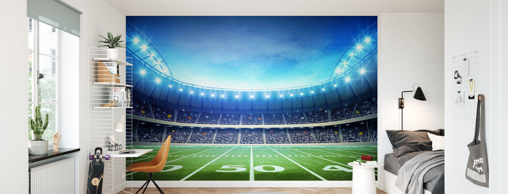 Light of American Stadium - Wallpaper - Kids Room