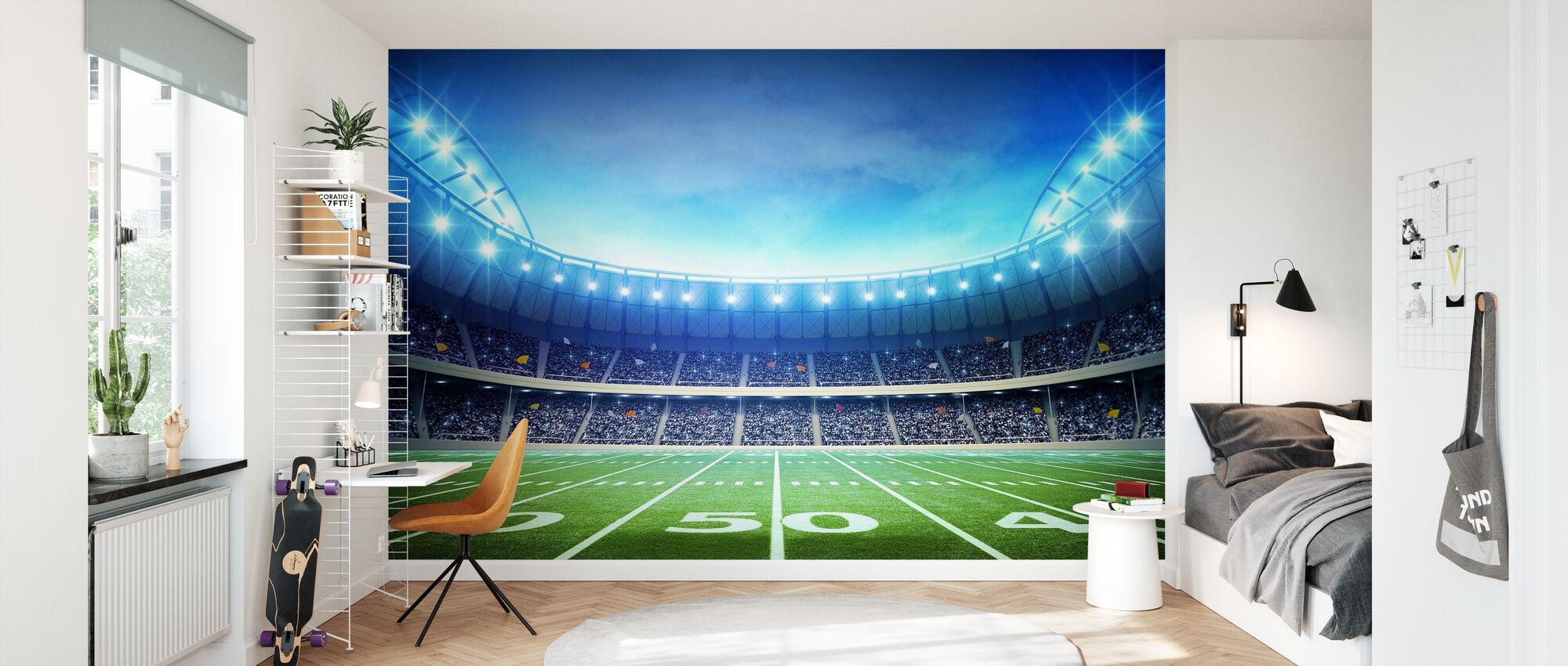 Light of American Stadium - Wallpaper - Kids Room