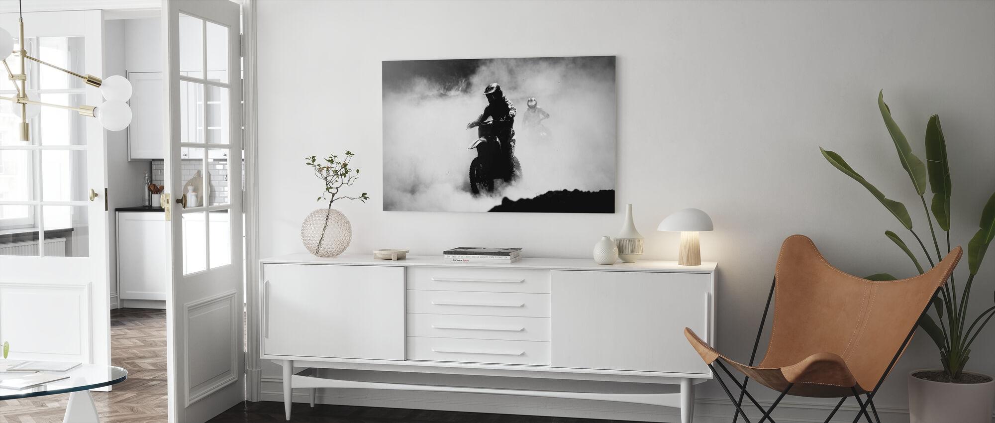 Motocross Racer - Canvas print - Living Room