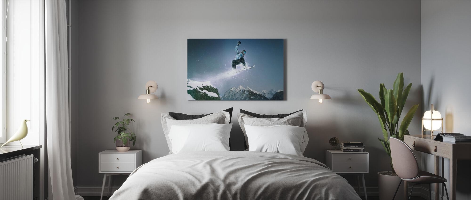 Snowboard Method Grab - Canvas print - Bedroom