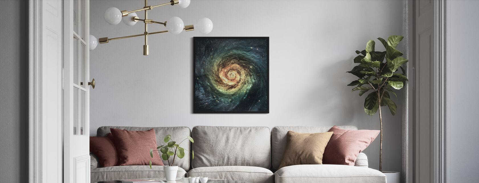 Spiral galakse - Innrammet bilde - Stue