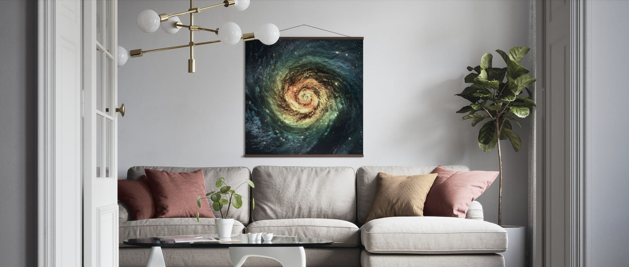 Spiral Galaxy - Poster - Living Room