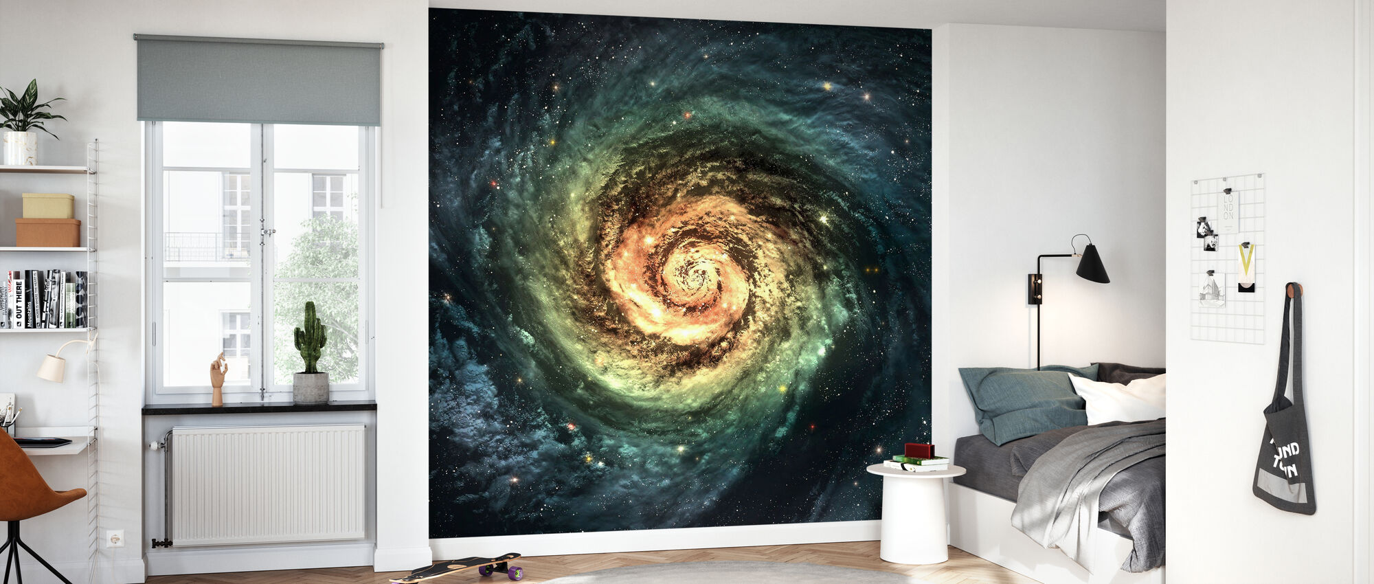 Spiral Galaxy - Wallpaper - Kids Room