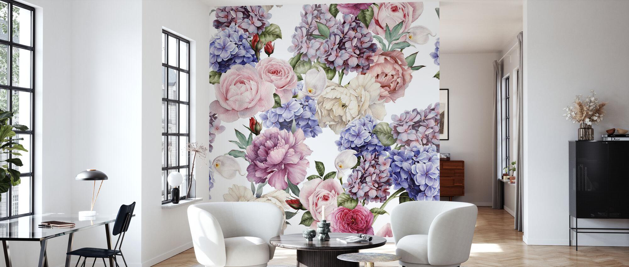Endless Summer - Wallpaper - Living Room
