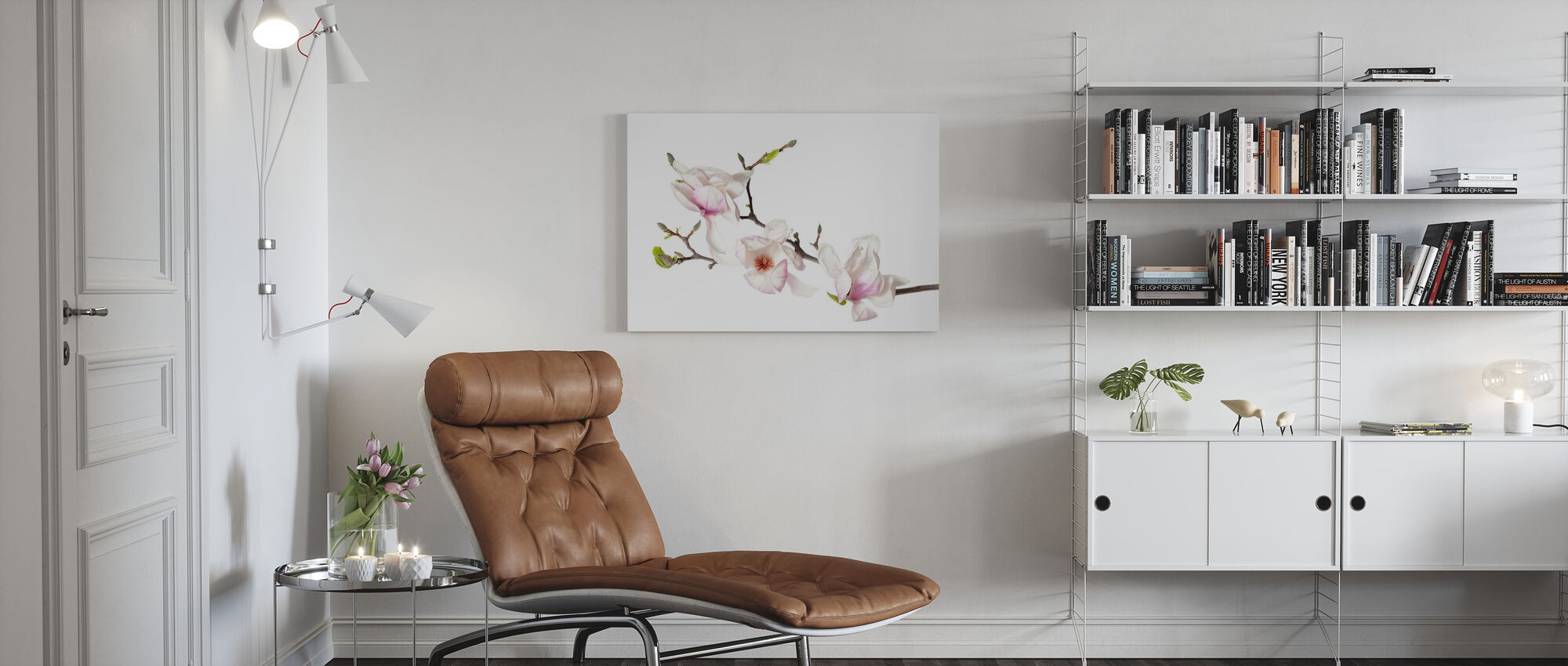 Orchid Buds - Canvas print - Living Room