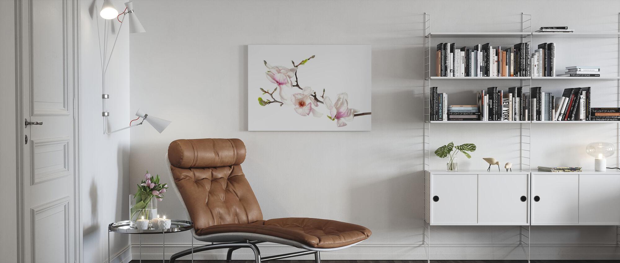 Orchideenknospen - Leinwandbild - Wohnzimmer