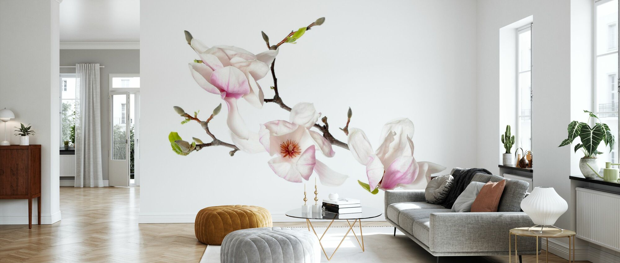 Orchid Buds - Wallpaper - Living Room
