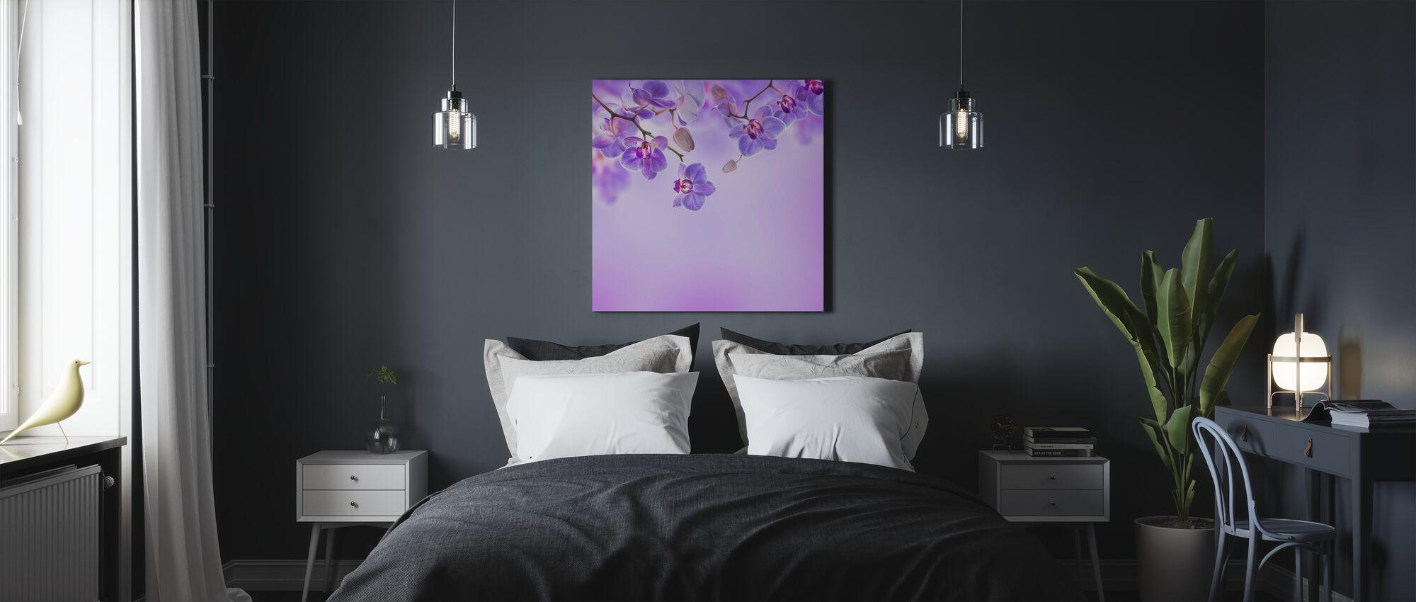 Soft Purple Orchids - Canvas print - Bedroom