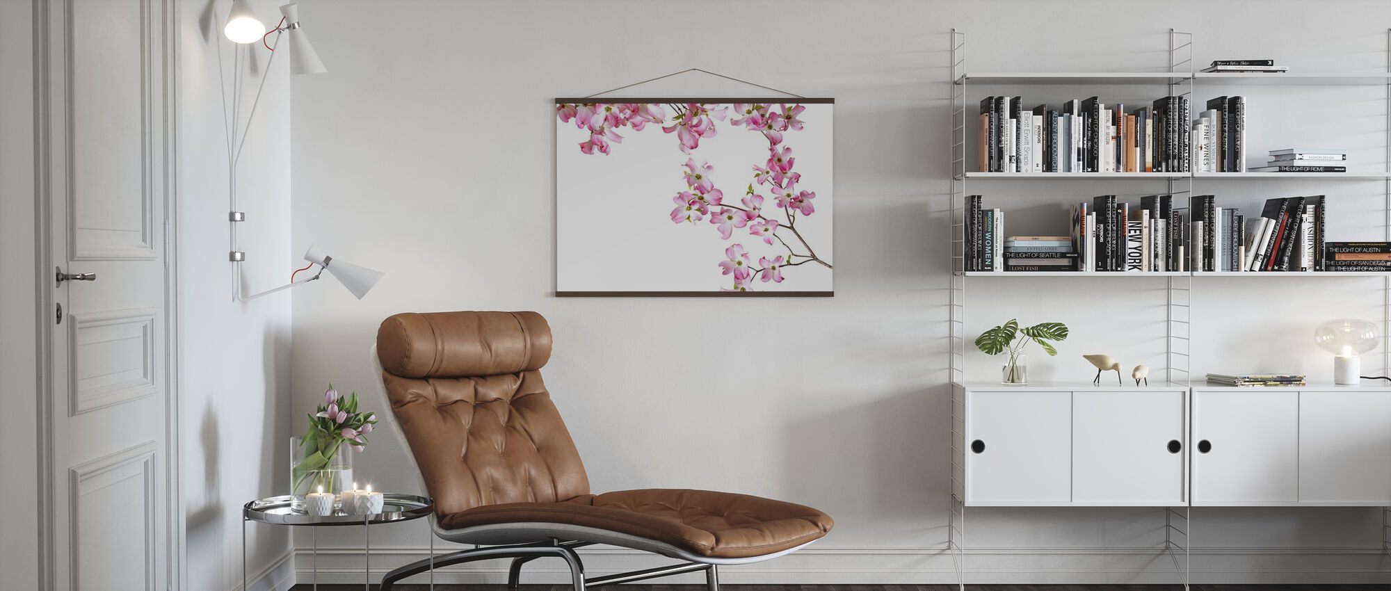 Striped Orchid - Poster - Living Room