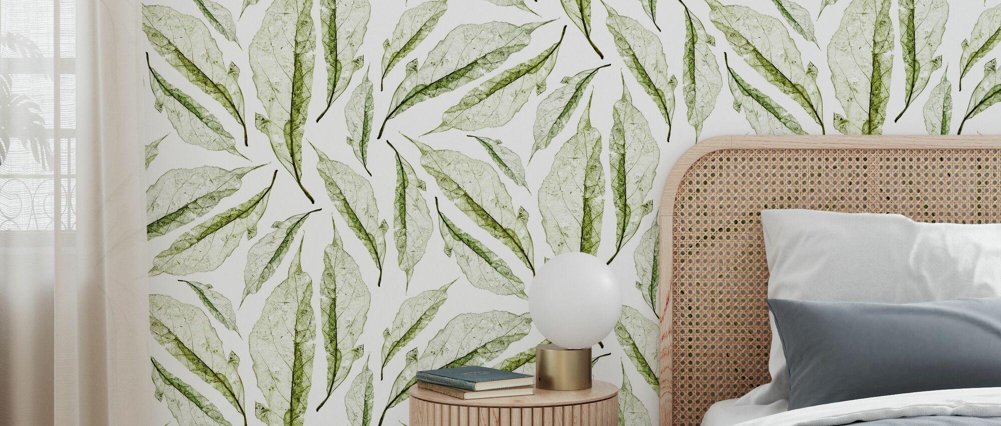 Ash Green - Wallpaper - Bedroom