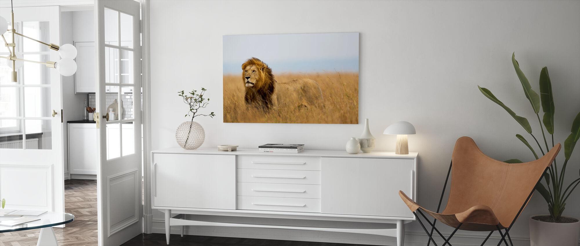 Lions Watch - Lerretsbilde - Stue