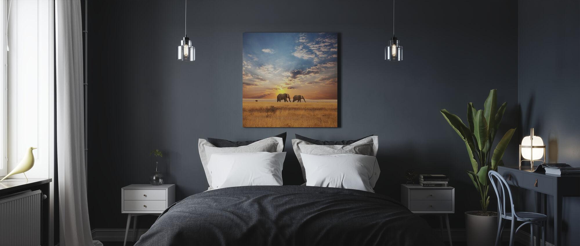Savannah Sunset - Canvas print - Bedroom