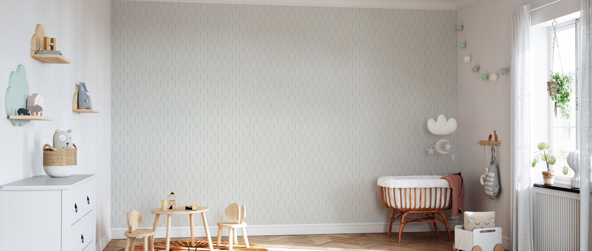 Rain Sky - Wallpaper - Nursery