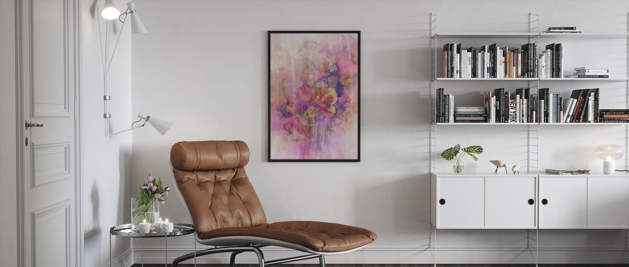 Smokey Blomster april - Plakat - Stue