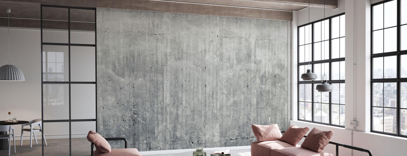 Grunge betongvägg - Tapet - Kontor