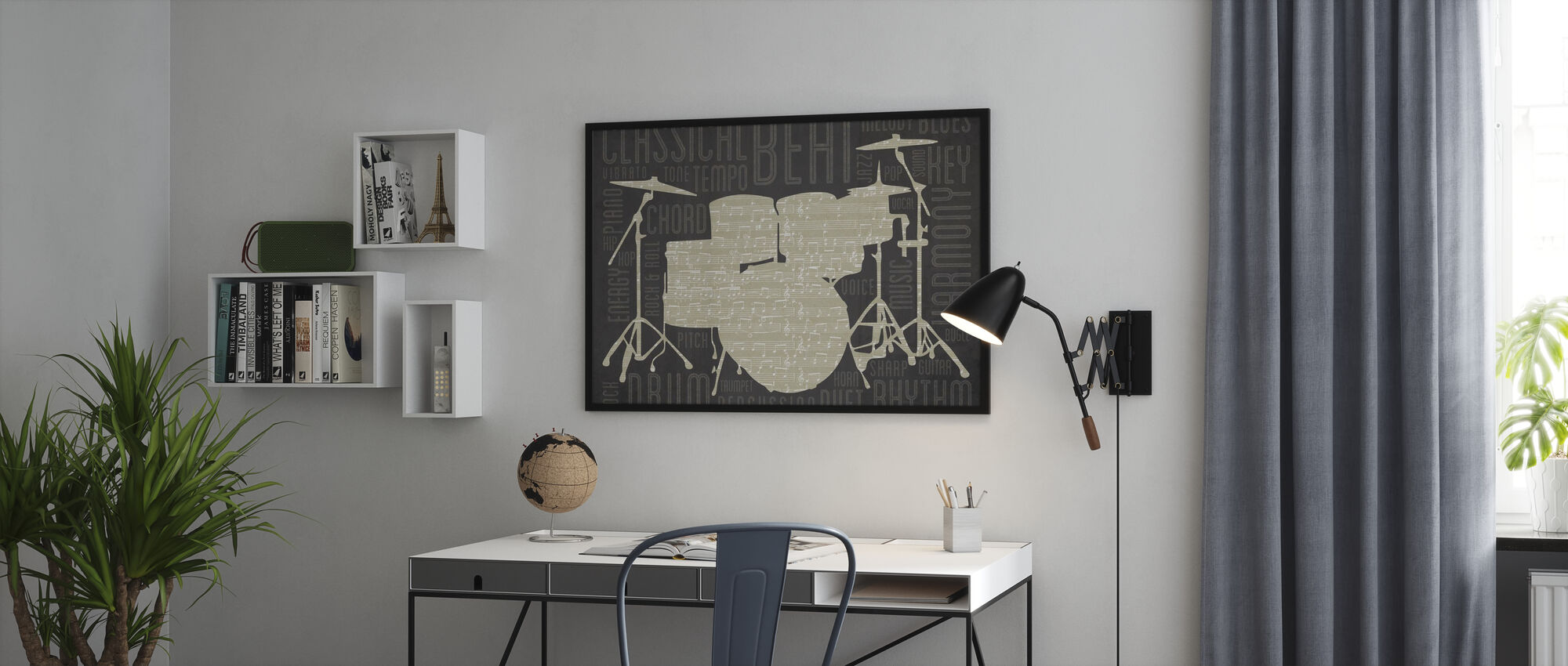 Drums - Poster - Office