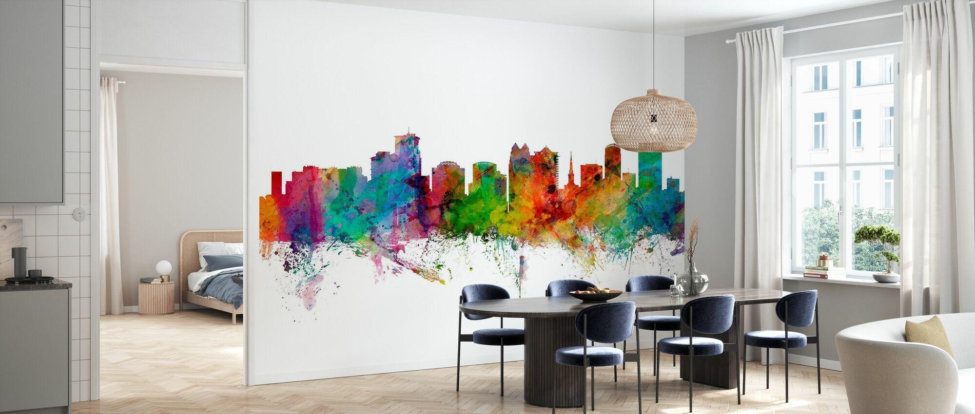 Orlando Florida Skyline - Wallpaper - Kitchen