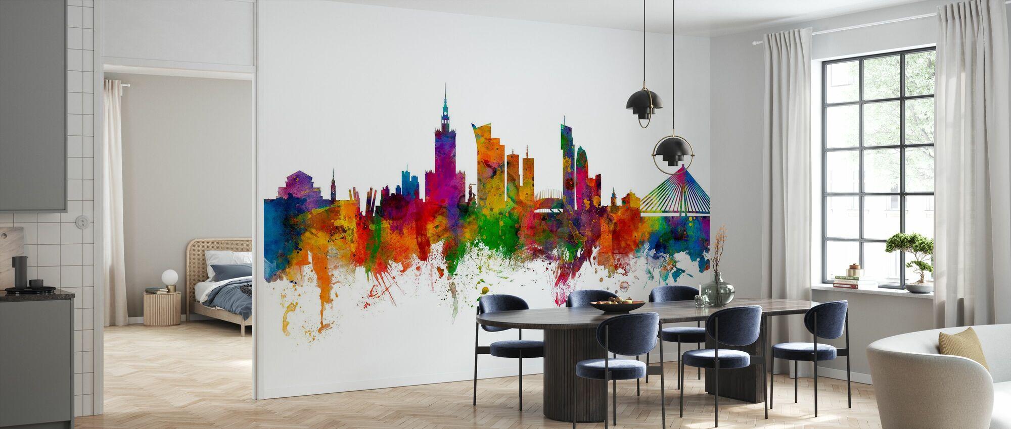 Warsaw Skyline - Wallpaper - Kitchen