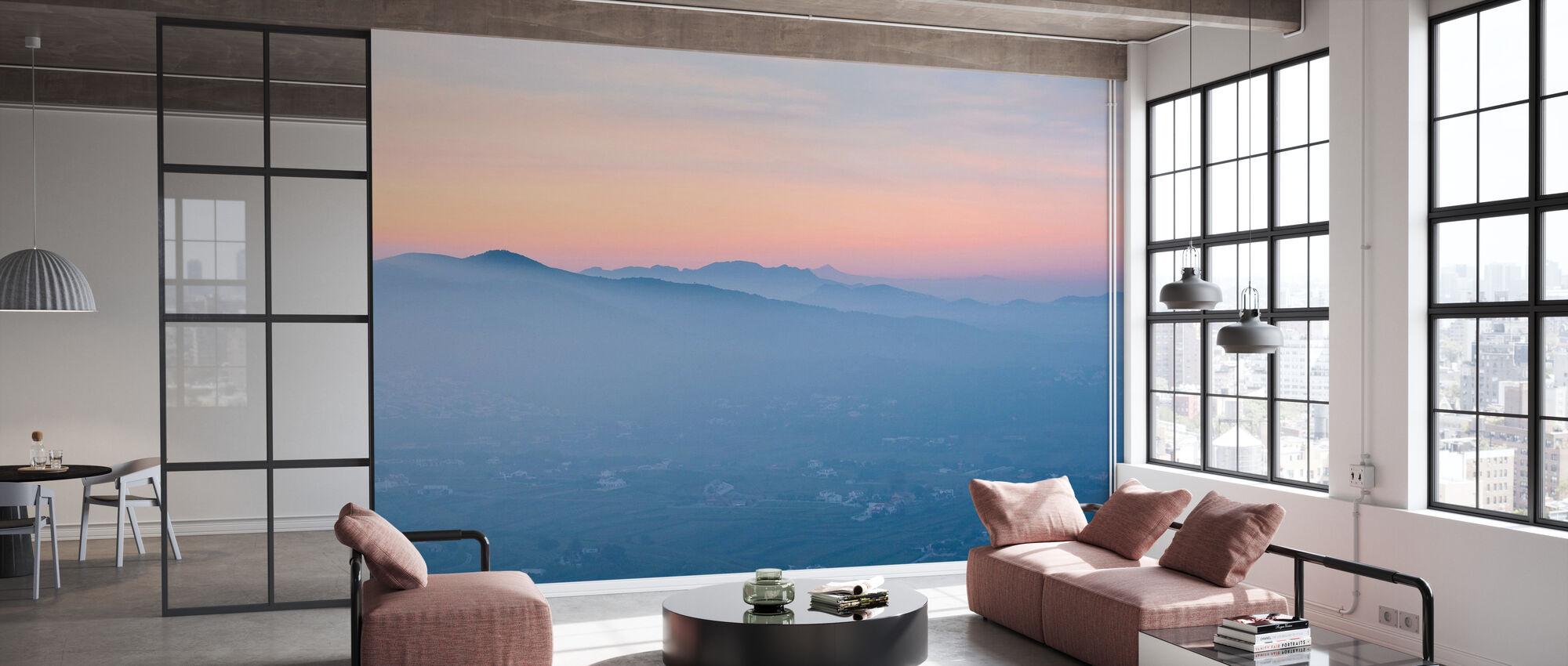 Spanish Summer Valley - Wallpaper - Office
