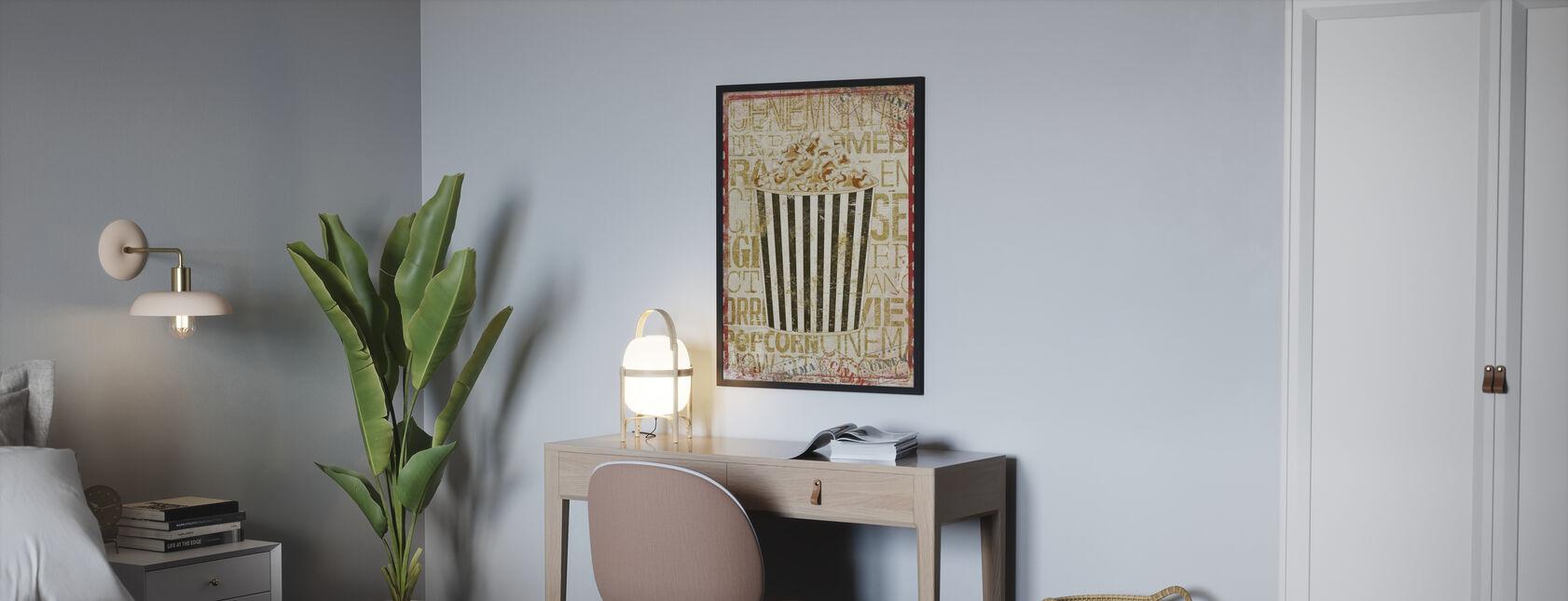 Cinema Popcorn - Poster - Bedroom