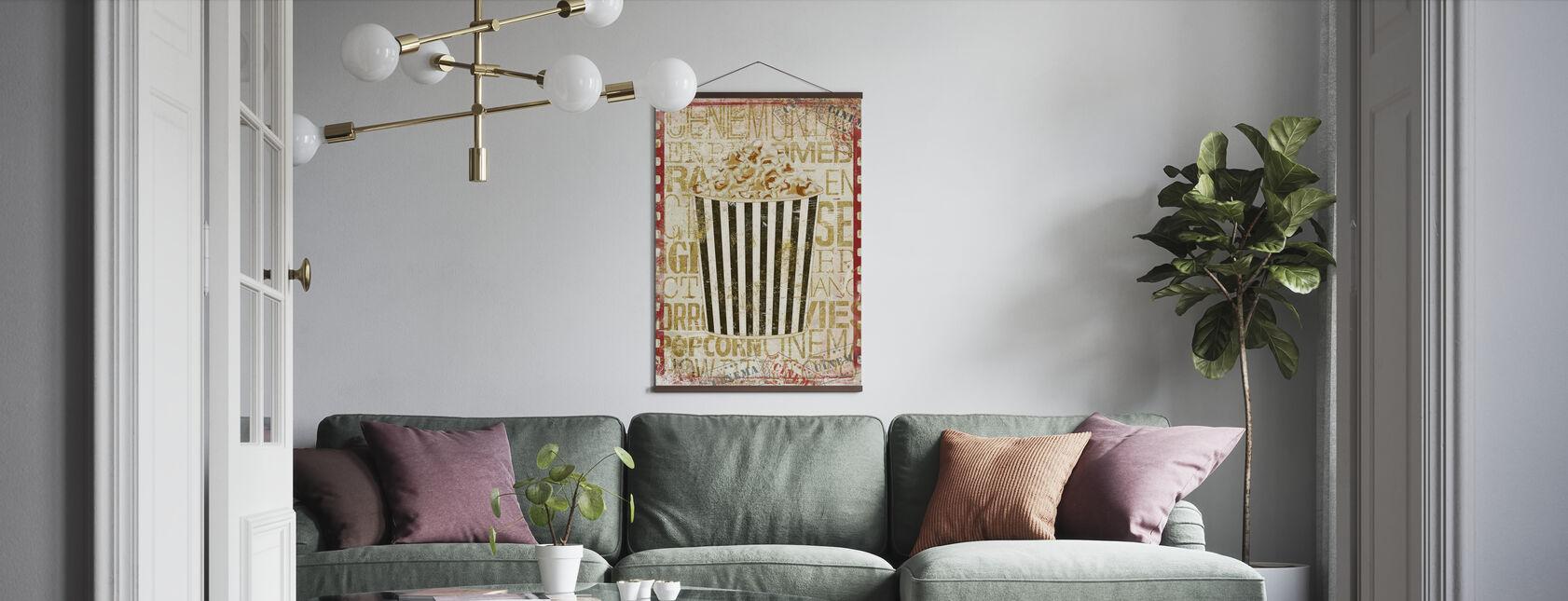 Cinema Popcorn - Poster - Living Room