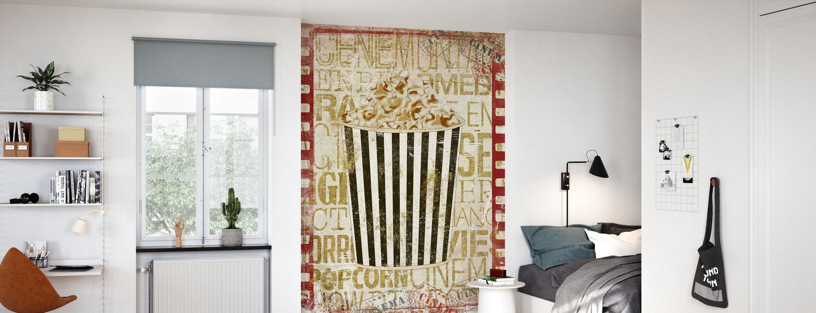 Kino popcorn - Tapet - Barnerom