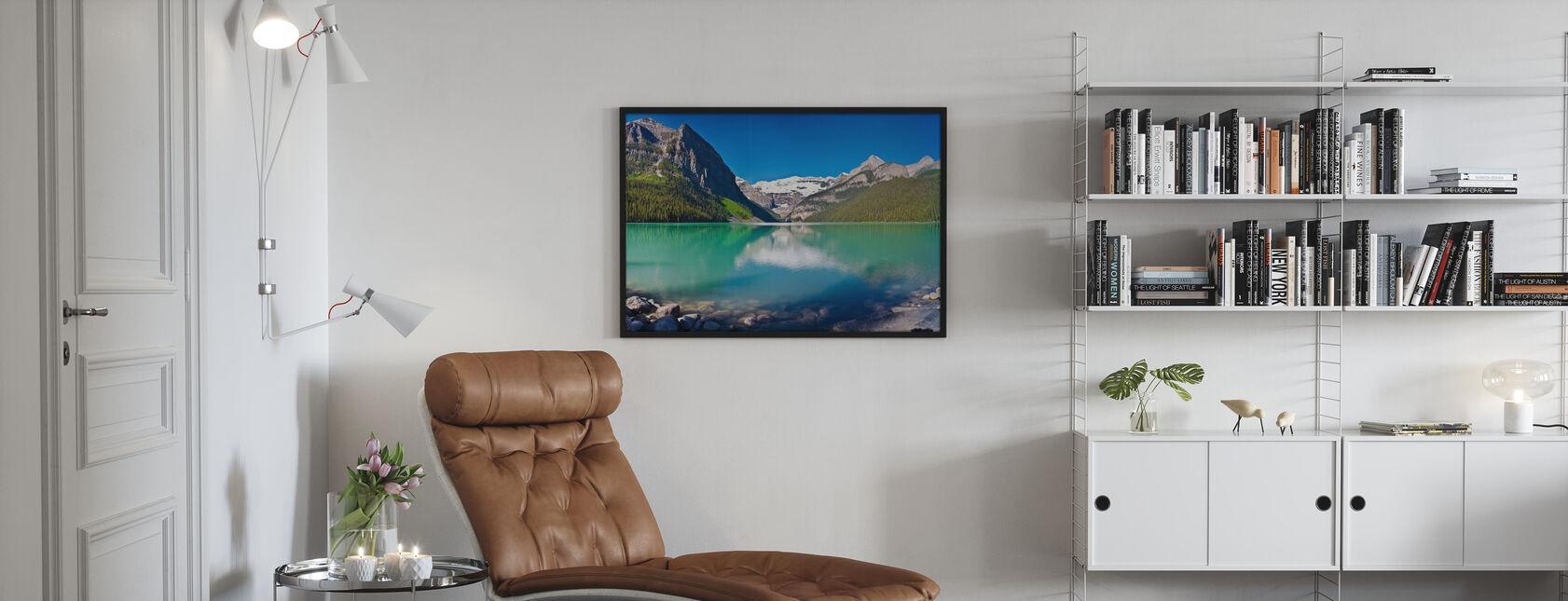 Lake Louise, Alberta, Canada, North America, Panorama - Poster - Living Room